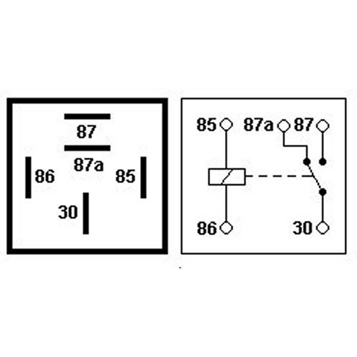 Terrific Jual Relay Kaki 5 Pin Pemutus 87A 12V 40A Relay Cut Off Untuk Mobil Wiring Database Ittabxeroyuccorg
