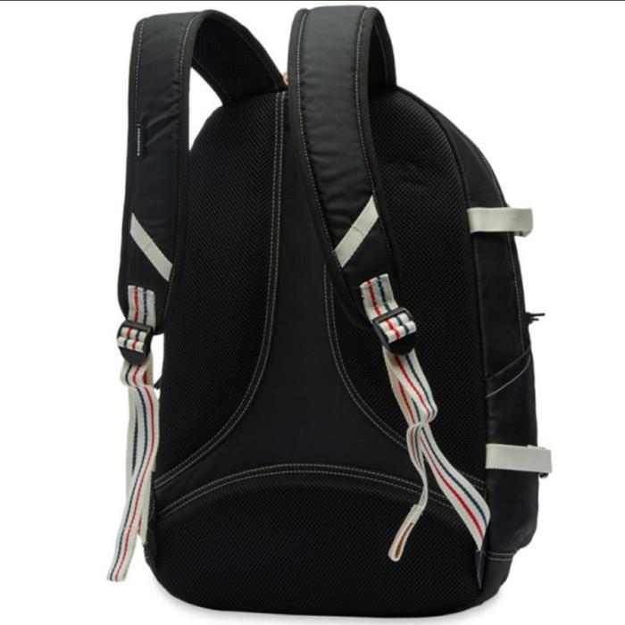 Jual Tas Ransel Converse Courtside Straight Edge Backpack Black ... 163e6ffe12345
