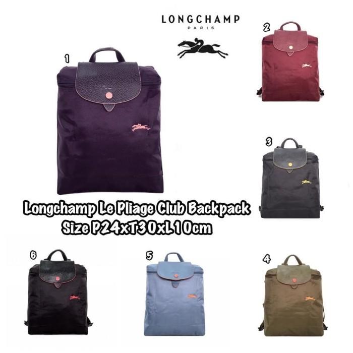 harga Tas ransel longchamp le pliage club backpack Tokopedia.com