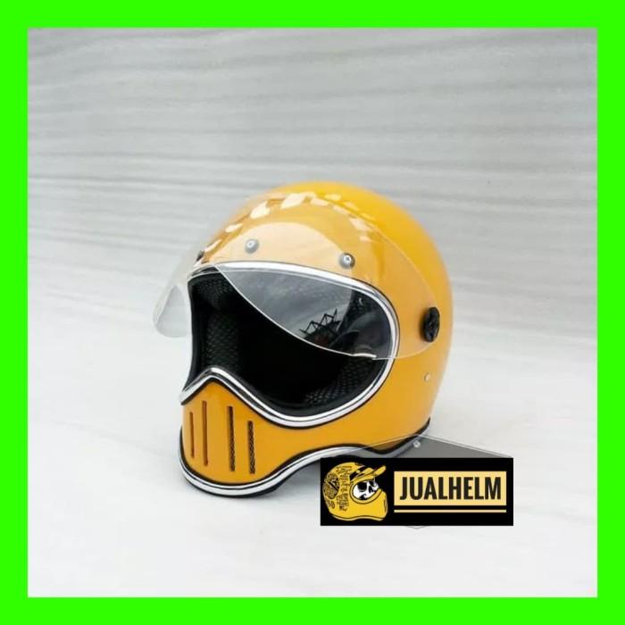 a6488b97 Jual Helm Custom Simpson M50 Flat Visor - Kota Depok - Jual Helm ...
