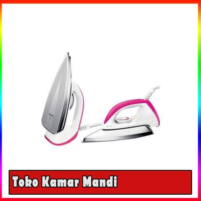 (Murah+Gosend) Philips Setrika HD 1173-80 - pink - Fuchsia