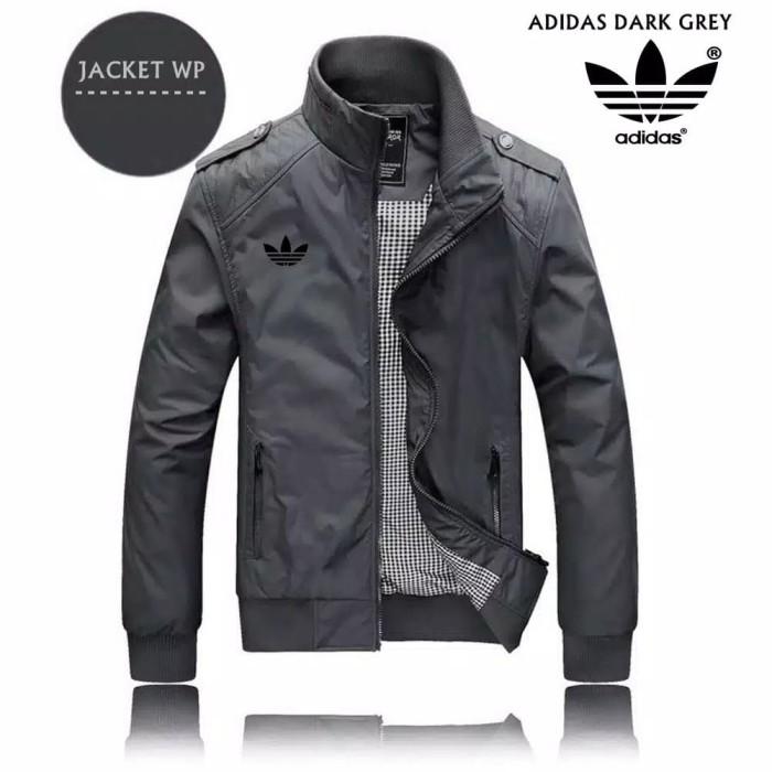 Foto Produk Jaket Pria Kasual Line Adidas Jaket Fashion terbaru Cowok Trend - Navy, XL dari Nuruni Ad