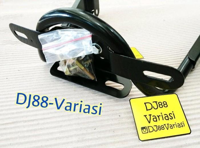 BRACKET DUDUKAN PLAT AEROX 155 BRAKET NOPOL AEROX NOMOR