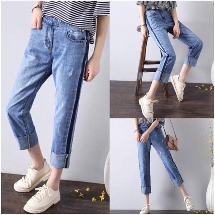 61+  Celana Jeans Ngatung Wanita Terlihat Keren Gratis