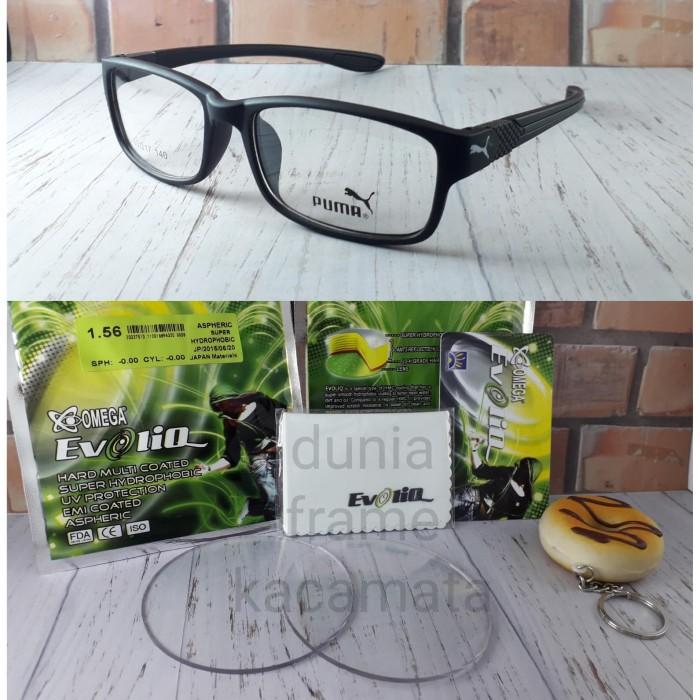 Kacamata Puma Sporty Lensa Minus Antiradiasi Anti Embun Air EVOLIQ