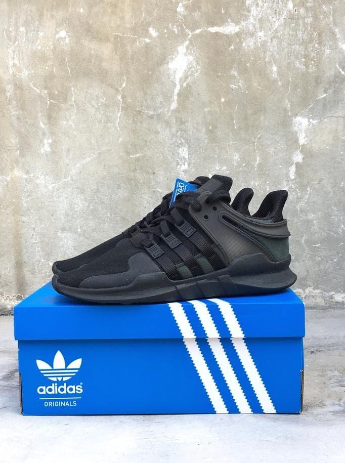 sale retailer 62e51 7d3d8 Jual Adidas Eqt Support Adv Triple Black / Bnib Originals Cp8928 (Ori) -  Oretz Shops | Tokopedia