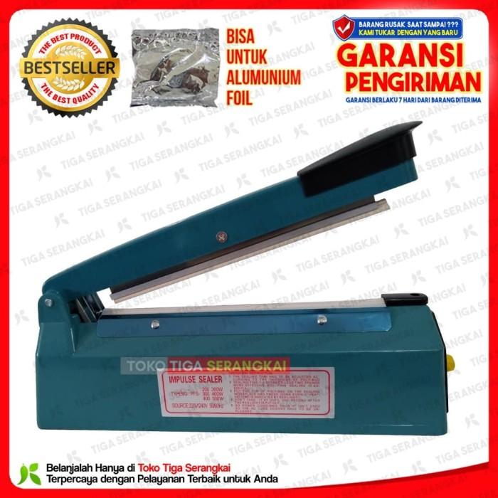 PRODUK TERLARIS Q2 Impulse Sealer PFS 200 Pres Plastik 20 Cm