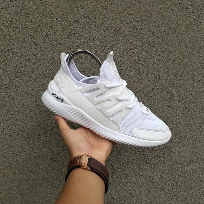Sepatu Sneakers Casual Running Adidas Alphabounce Tubular Cewek Women