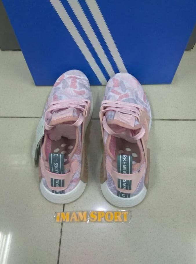 1354789d2473f Jual Sepatu Adidas Nmd Xr1 Duck Camo Baby Pink Premium Quality ...