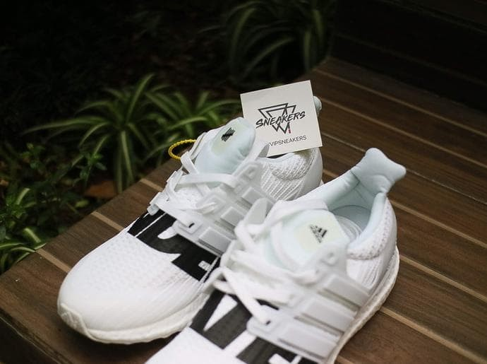 05c8118701700 Jual Adidas Ultra Boost X Undefeated White - Utomo Galeri