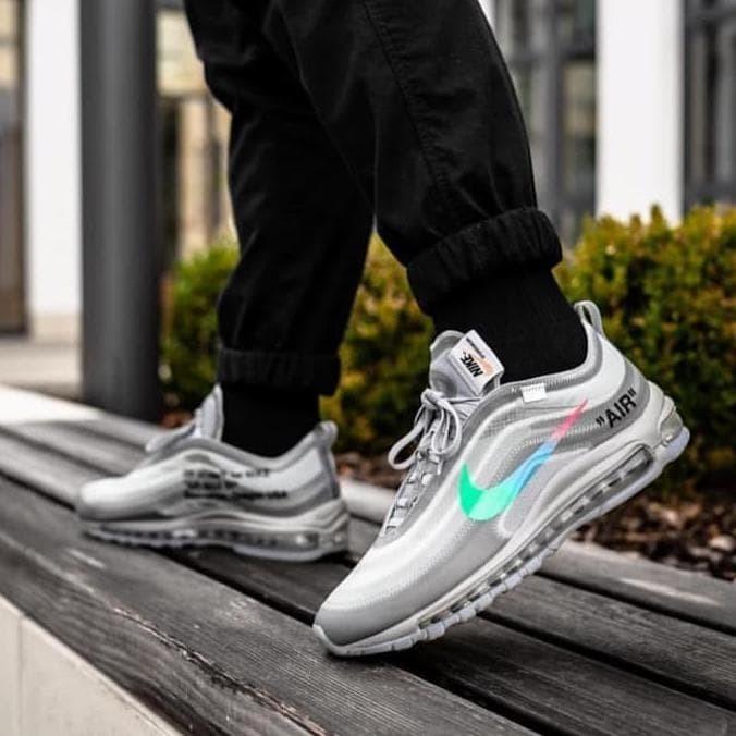 Jual Sneakers Pria Nike Airmax 97 X Off White Mirror Quality ... 1521f6761