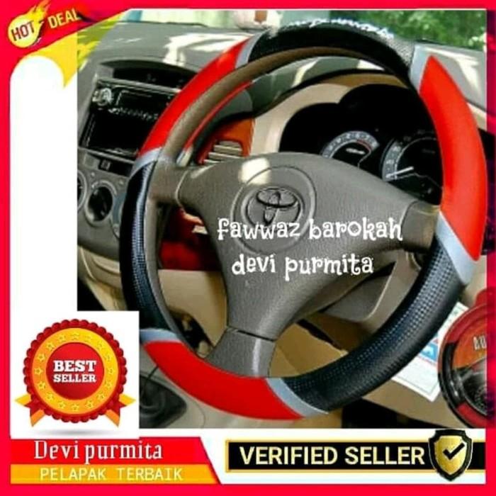 ... Sarung Stir Mobil Autorace 104 Source · COVER STIR MOSTWANTED MOBIL DAIHATSU LUXIO ORANGE