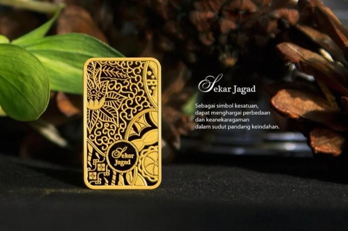 Jual Terlaris Lm Antam Seri Batik 10 Gram Logam Mulia Batik Emas