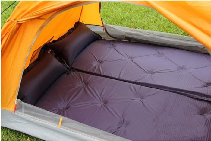 Self Inflating Matras : Adventure kings self inflating foam mattress queen wd supacentre
