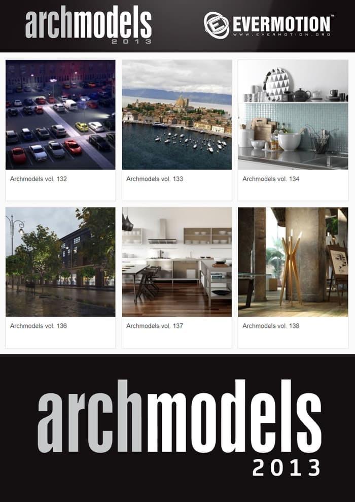Jual DVD 3D Model dari Evermotion Archmodels 2013 Vol  132 - 138 - Kota  Tangerang Selatan - RUM Store | Tokopedia