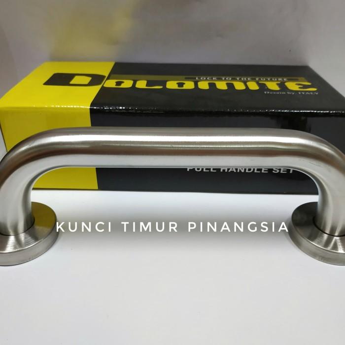 Foto Produk pull handle garasi 20 cm/tarikan pintu garasi/handle garasi PH106 dari Kunci Timur Pinangsia