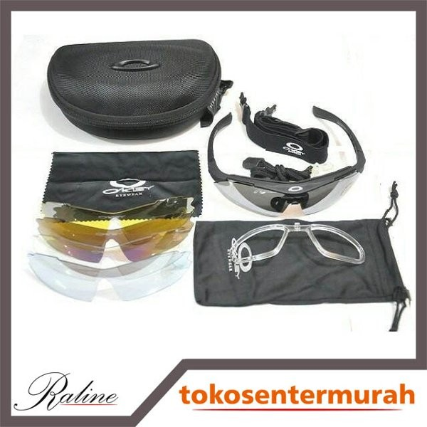 Jual Terlaris kacamata okley quantum 5 lensa super murah - thamcit 2 ... 4aff380184
