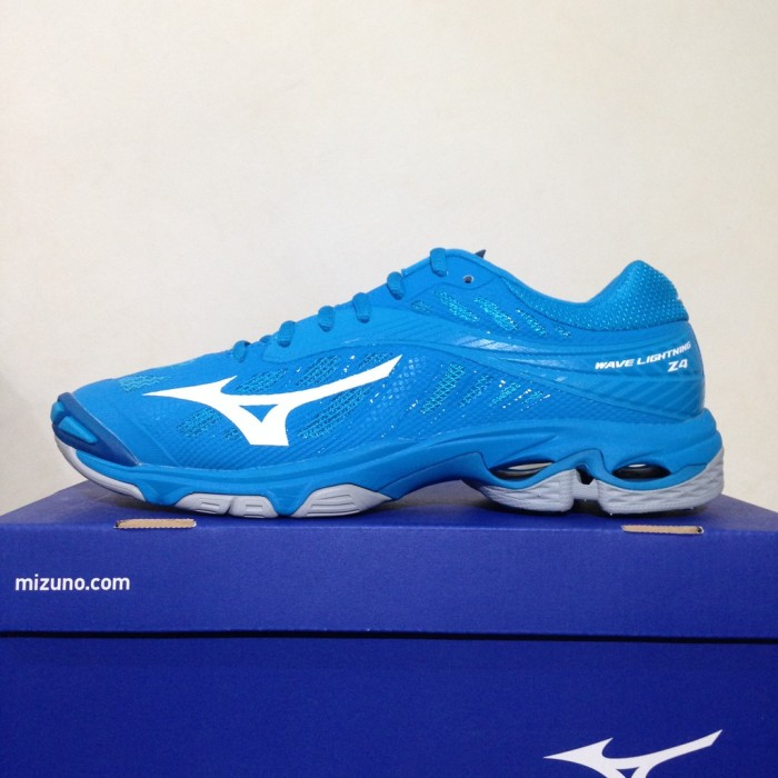 Sepatu Volley Mizuno Wave Lightining Z4 Blue Hawaiian V1GA180098 137179ddf0