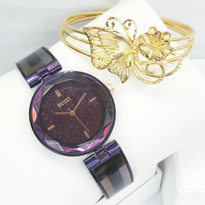 3918b5d784e51 Jual jam tangan wanita gucci 0200 jam tangan wanita paket gelang ...