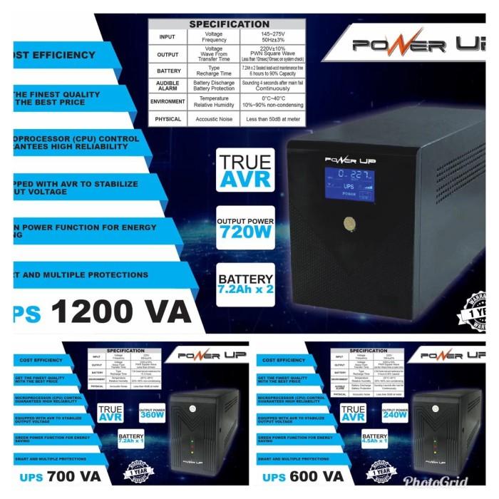 harga Ups power up 1200va + stabilizer Tokopedia.com