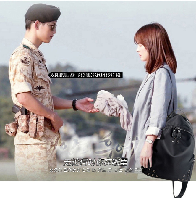 tas ransel korea fashion backpack bag ladies film korea bta198