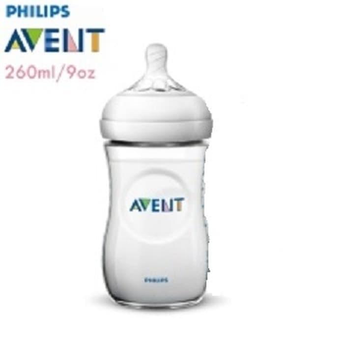 harga Philips avent natural bottle 260ml (isi 1pc) botol susu bayi Tokopedia.com