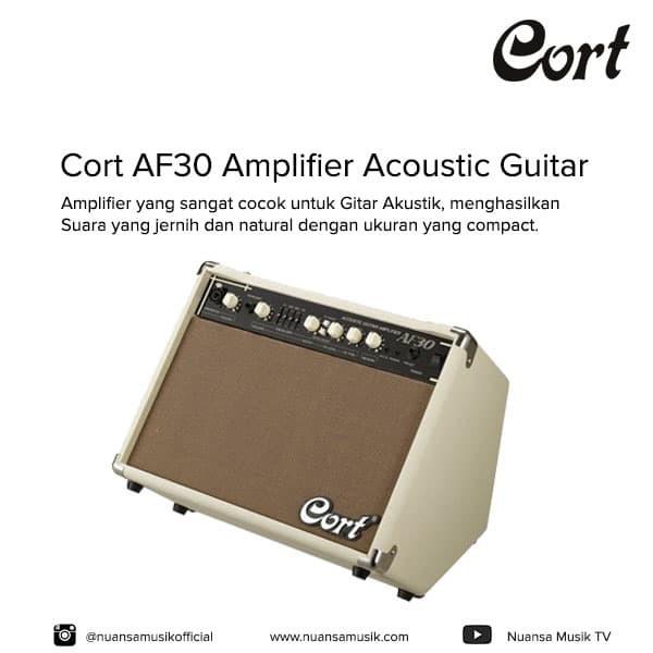 harga Cort af30 amplifier acoustic guitar Tokopedia.com