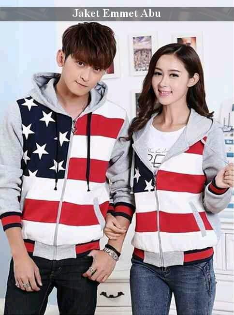 Foto Produk jaket couple | jaket kembar | jual jaket termurah | jaket emmet couple dari koleksi baju couple