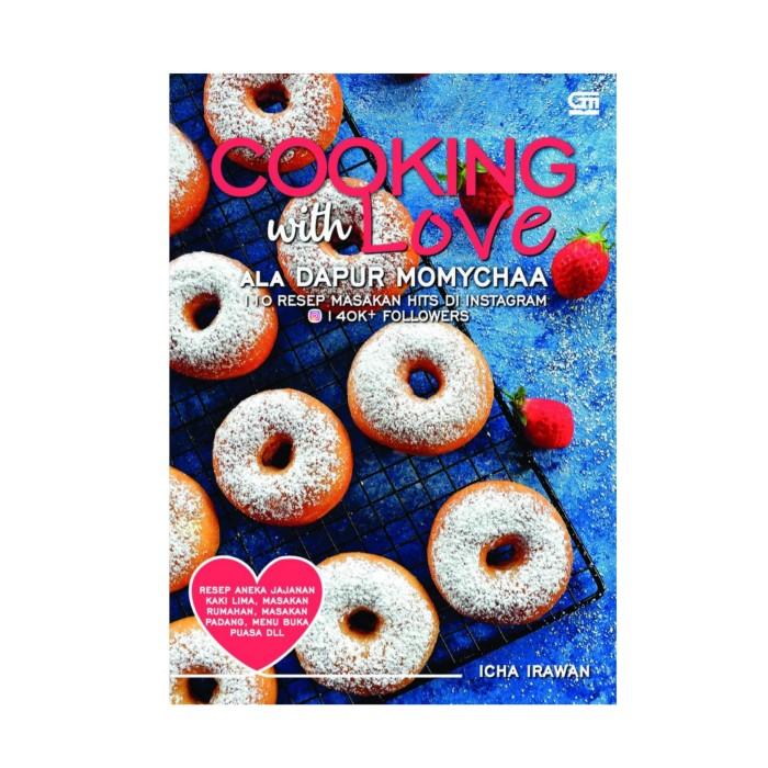 Foto Produk Buku Cooking With Love Ala Dapur Momychaa, Icha Irawan dari OPID Merchandise