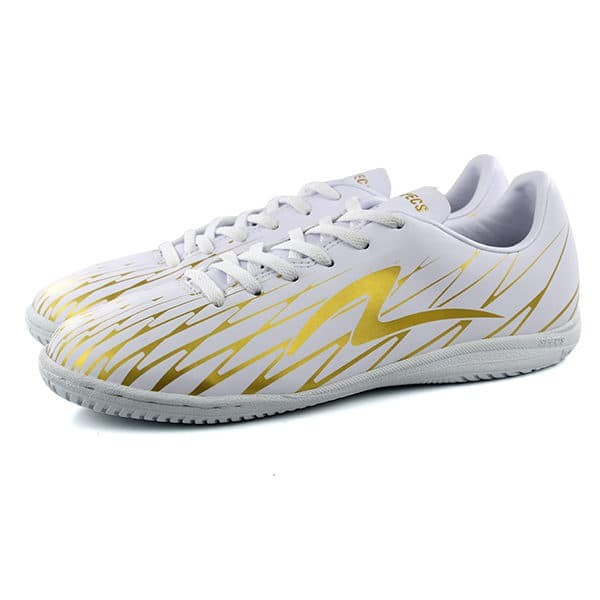Jual Sepatu Futsal Specs Flash 19 Fs White Gold Putih 40 Kota