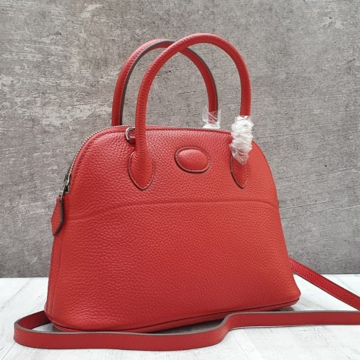 Jual HERMES BOLIDE Clemence Leather 29 Cm Mirror Quality Tas Branded ... 73e4307e5c