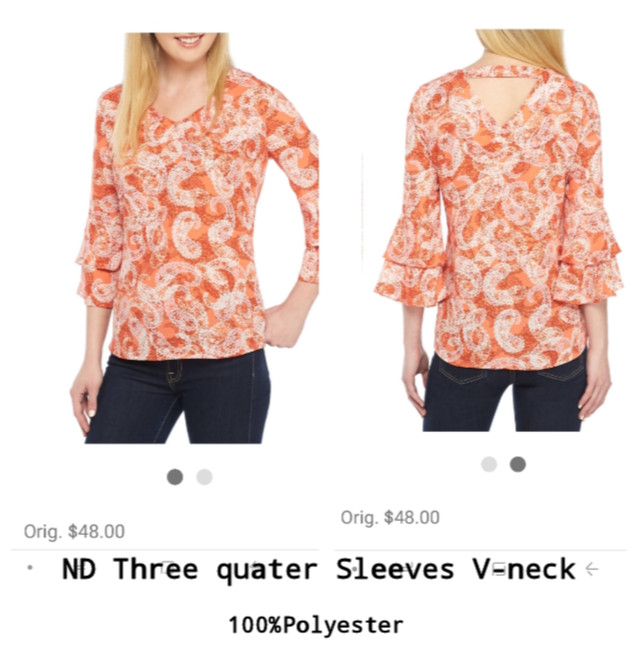 Foto Produk New Directions Three quarter bell sleeves brand murah dari Layla's brend collection