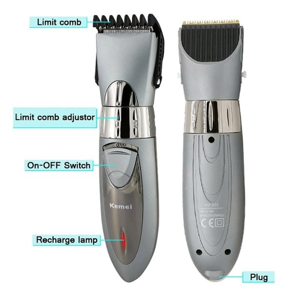 Kemei Mesin Cukur Km 605 Rechargeable Hair Clipper Waterproof - Info ... 3634d4a17c