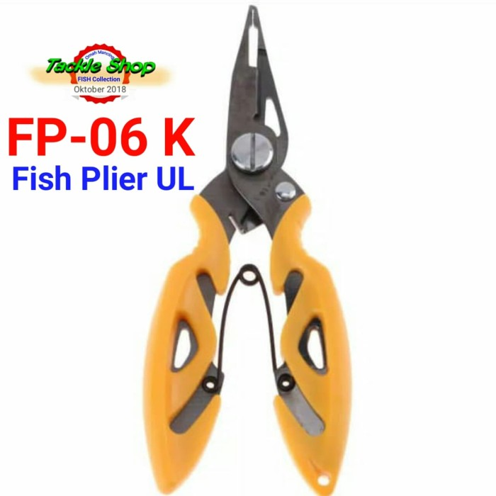 Two 30cm wired Lanyard with split ring aluminum buckle for pliers fishing tackle