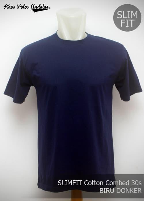 Jual Kaos Polos Slimfit Combed 30 S Biru Dongker Size Xxl Dki Jakarta Kaos Polos Andalas Tokopedia