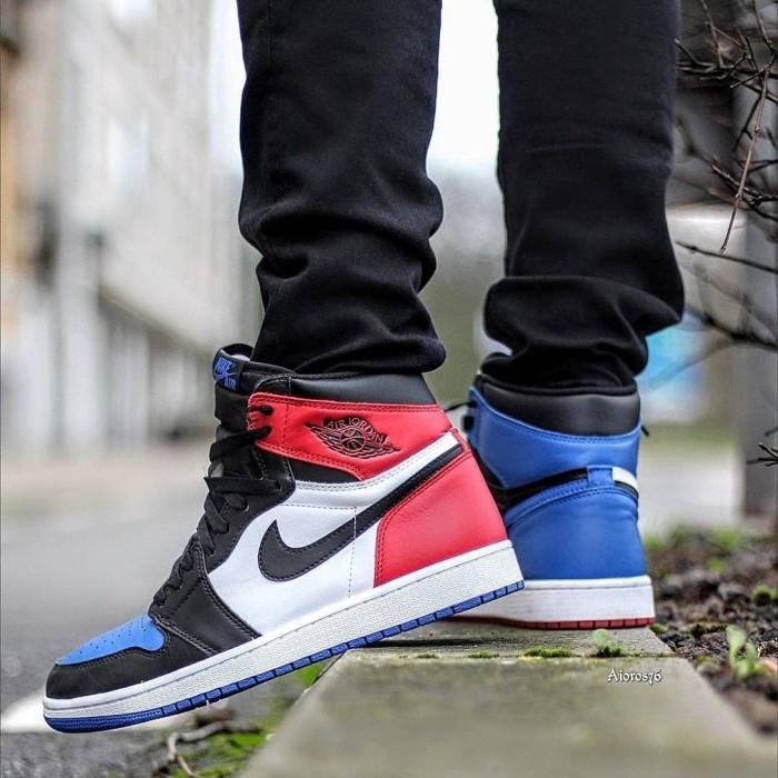 lowest price 7b34f 00aac Jual Sepatu Nike Air Jordan 1 Retro Top 3 Premium Original - Jakarta Barat  - AFS.Store | Tokopedia