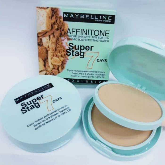 Bedak MAYBELLINE SUPER STAG 7 DAY - [ Powder + Foundation ]