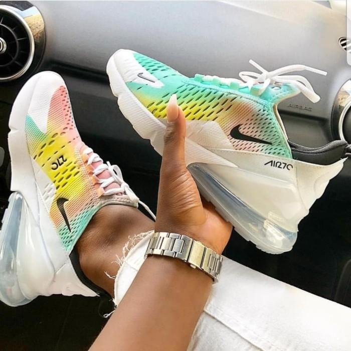 Jual Sepatu Nike Airmax 270 Multicolor Wanita Premium Original