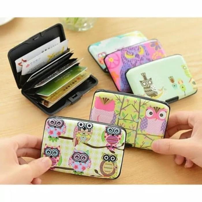 Ronaco Dompet Kartu 24 Pc - Pink. Source · Dompet Kartu Card Holder Owl Cute