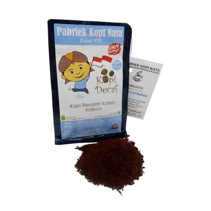 Kopi nata - kopi decaf robusta blue