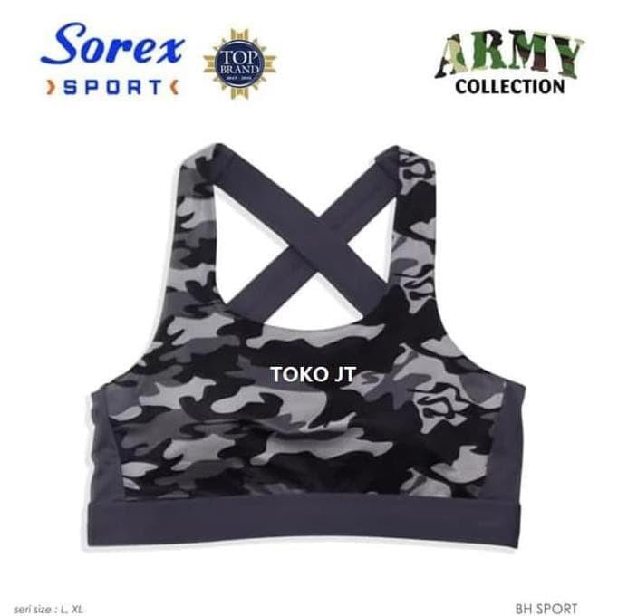 Sport Bra Fashion Army Bh Olahraga Gym Fitness Zumba Sorex 8401. Toko dalam  status moderasi 49c9c67697