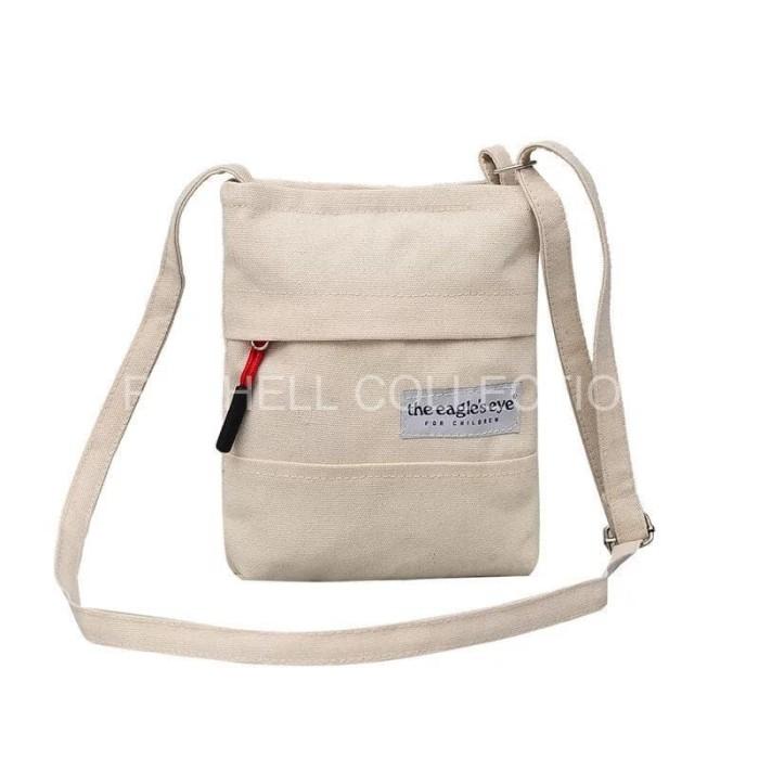 IMPORT The Eagle Eyes Tas Selempang Sling Bag Mini Pocket Canvas