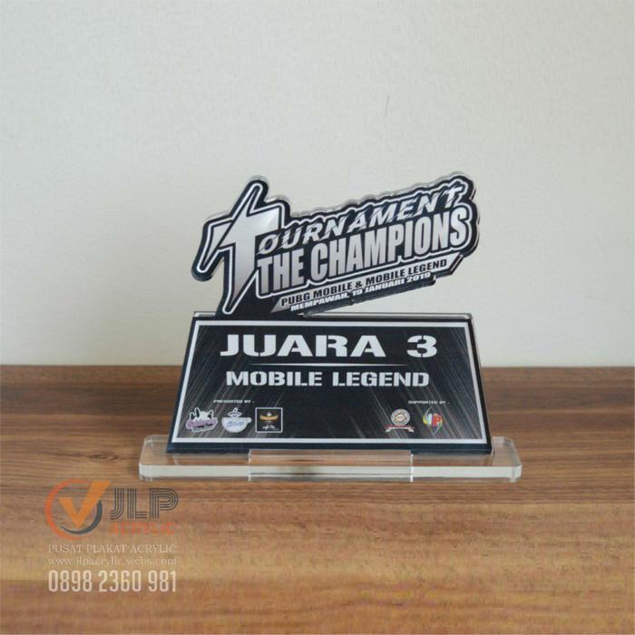 Jual Trophy Plakat Piala Piagam Tropi Penghargaan Acrylic 20cm X 10cm Kd5 Jakarta Barat Jlp Acrylic Tokopedia