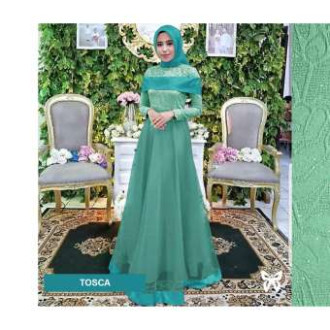 Jual Gaun Pesta Muslimah Baju Muslim Wanita Syar I Hijab