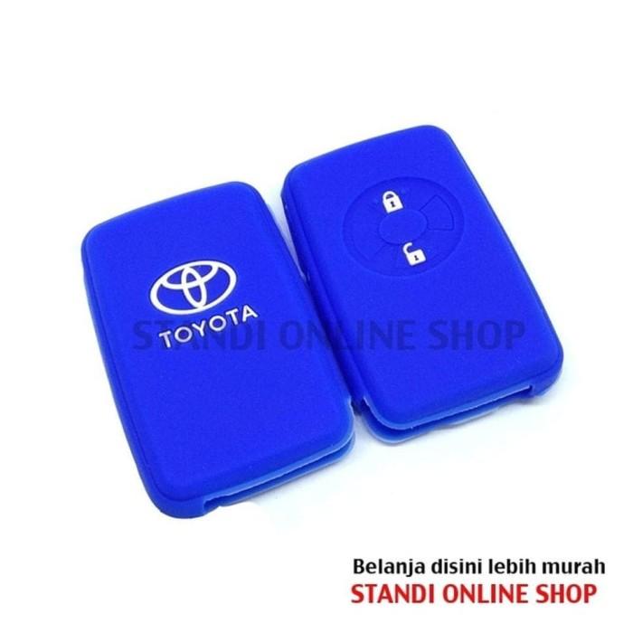 Kondom Kunci Silikon Remote Sarung Remot Toyota Yaris Vios TRD
