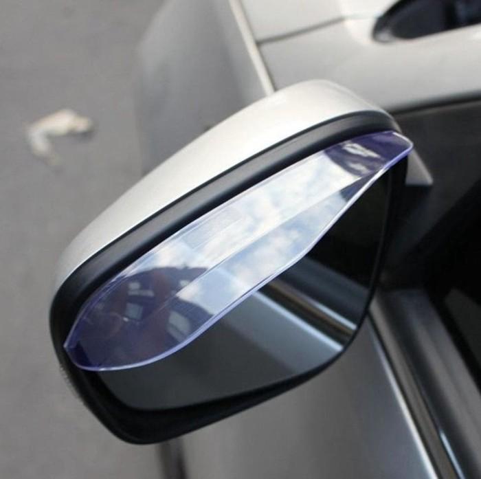 Talang Air Spion / PVC Pelindung Spion Kaca Mobil Variasi Anti Hujan