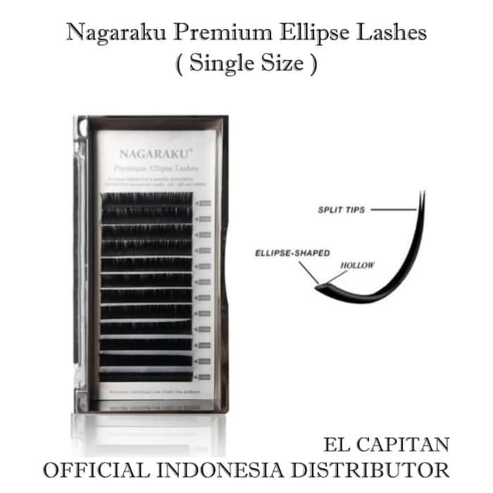 7d902680dff Jual Nagaraku Premium Ellipse Elipse Lash Bulu Mata Single Size ...