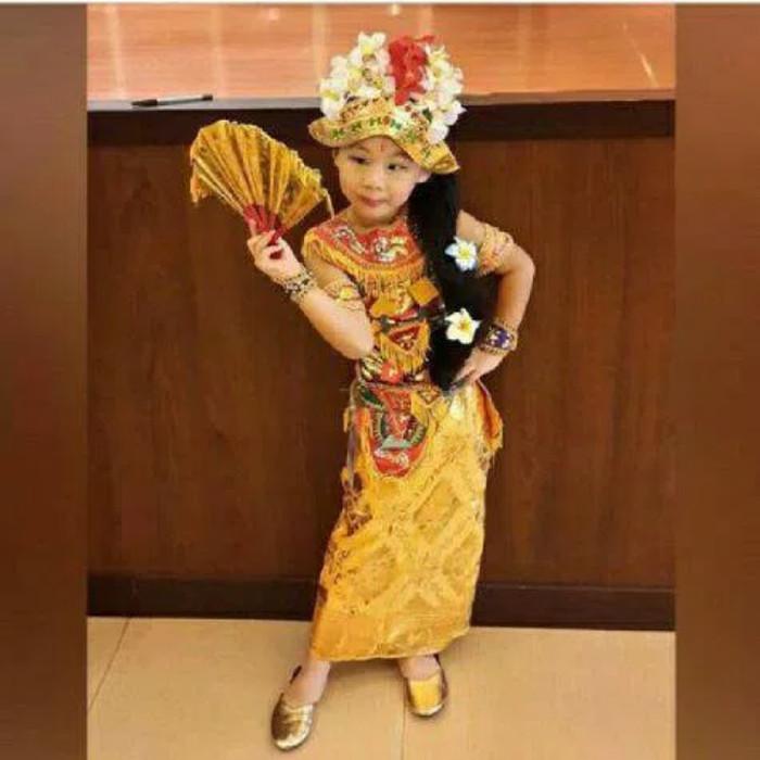 45 Gambar Baju Tari Bali Anak Terbaik