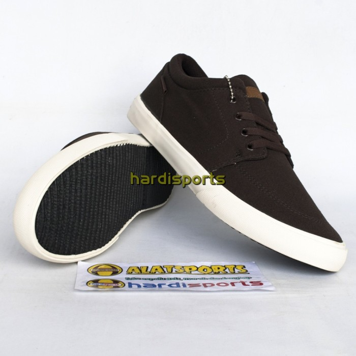 Airwalk Jair Sepatu Sneakers Pria Dark Brown - Daftar Harga Terbaru ... 9a2dc1c797
