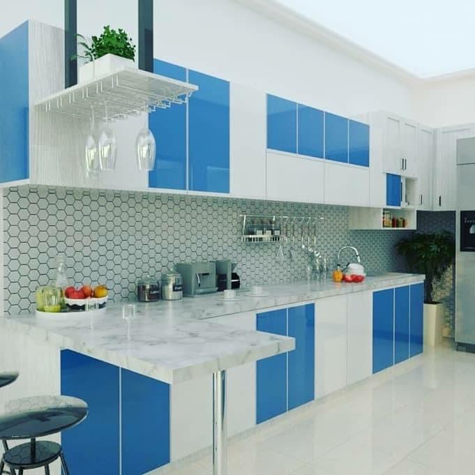 Jual Kitchen Set Aluminium Modern 2019 Kab Tangerang Matrial Building Tokopedia